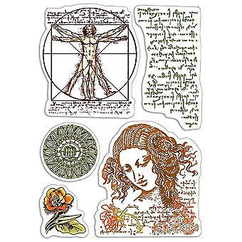 """Ciao Bella 4""""x6"""" Stamps - Codex Leonardo"""