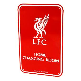 Liverpool FC officiella hem ändra rum metall sovrum tecken
