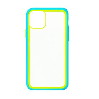 Phone Case (Baby Blue) Clear ShockProof Soft TPU Silicone For iPhone 11