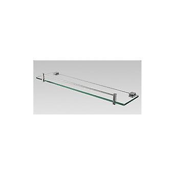 Chrome Glass Shelf Holder 500Mm
