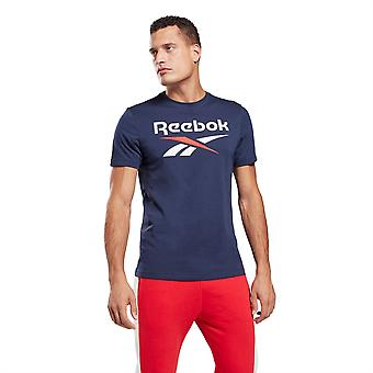 Reebok Mens Classic T-Shirt Crew Neck Short Sleeve T Shirt Tee Top