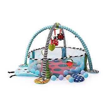 Moni Play Bow 3 in 1 lieveheersbeestje 63546 kruipen deken, activiteitencentrum, bal bad