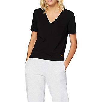 G-STAR RAW Core Ovvela Kortärmad skjorta, Dk Svart 4107/6484, X-Small Womens