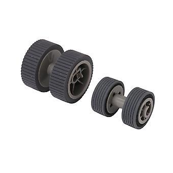 2x Drucker Pickup Roller Replacemnet Teil pa03540 0001 Pa03540 0002 Grau