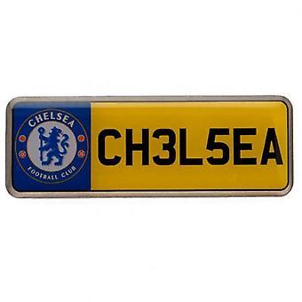 Chelsea FC nummer plattan Badge