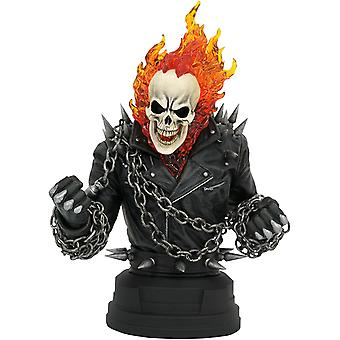 Diamond Select Toys Marvel Comic Ghost Rider 1/6 Scale Bust