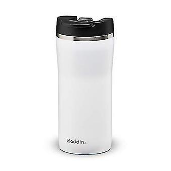 Aladdin Mocca Thermavac Leak-Lock Stainless Steel Mug 0.35L Snowflake White