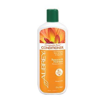 Aubrey Organics Honeysuckle Rose Conditioner, 11 Oz