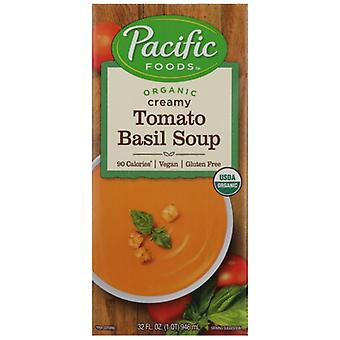 Pacific Foods Soup Vgn Tomato Basil Org, Case of 12 X 32 Oz
