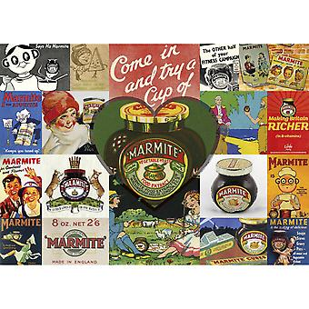 Gibsons Vintage Marmite Jigsaw Puzzle (1000 Pieces)