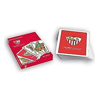 Pack de cartes à jouer espagnoles (40 cartes) Séville FC