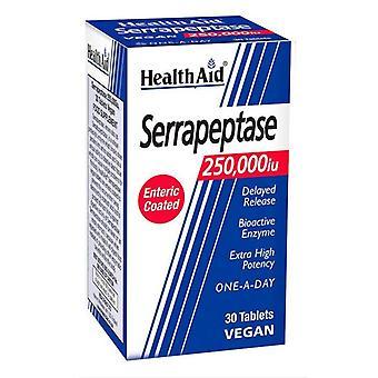 HealthAid Serrapeptase 250 000iu Tabs 30 (803342)