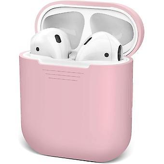 Waterproof Shock Proof Case for Apple Airpod 1 & 2 (Pink)(Pink)
