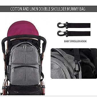 Insular Large Capacity Mother Bag Multifunctional Travel Baby Nappy Bags