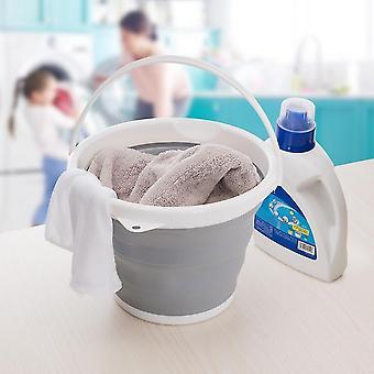 Kitchen cabinets foldable wash bucket creative plastic portable washing fishing clean tool