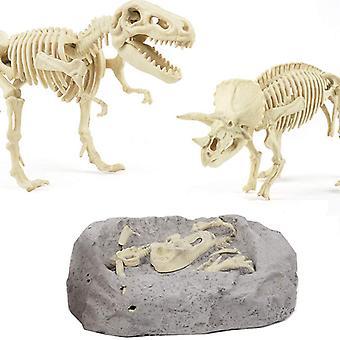 Dinosaur Fossil Digging Kit pour les enfants, paléontologie et archéologie Toy