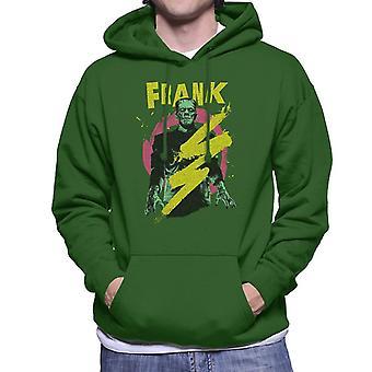 Frankenstein Frank Electric Shock Men's Hooded Sweatshirt