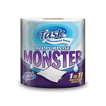 Task Household Monster All-Purpose 2 Ply Kitchen Towel