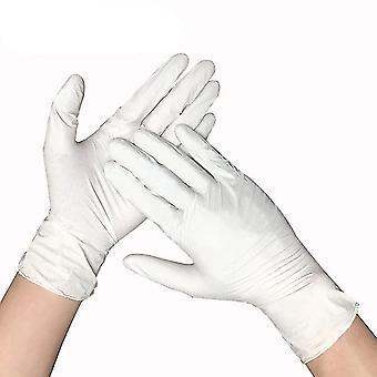100pcs Universal mănuși de unică folosință latex pentru curățarea acasă