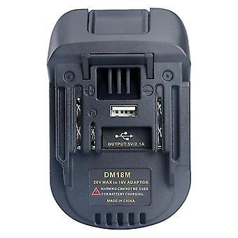 Adaptor convertizor baterie 20v/18v Dm18m Pentru Dewalt