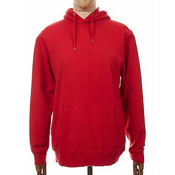 Colorful Standard Organic Cotton Hooded Sweat - Scarlet Red