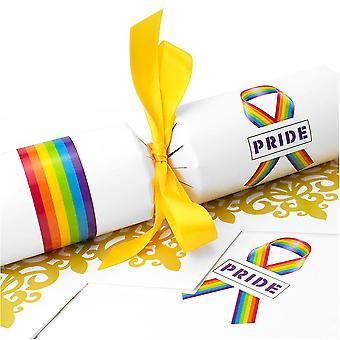 10 große Simply Pride Cracker - Machen und füllen Sie Ihr eigenes Kit ohne Bänder