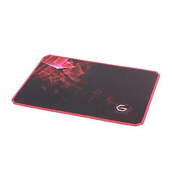 Gembird MP-GAMEPRO-L Gaming Mouse Pad PRO, Grand Noir/Rouge, 400 x 450 x 3 mm