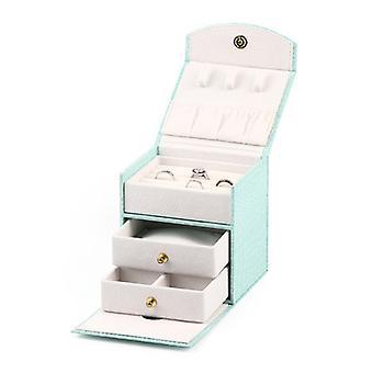 Girl's Tragbare Schmuck Aufbewahrungsbox, kosmetische Aufbewahrungsbox