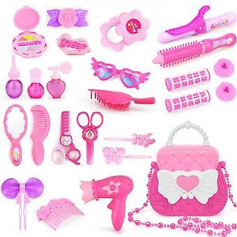 Pretend Makeup Set Jeu de rôle Cosmétiques Kit Princesse Dress Up Cadeau Jouet