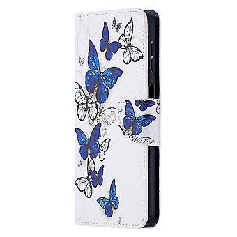 Samsung Galaxy A32 5g Fall Muster viele Schmetterling
