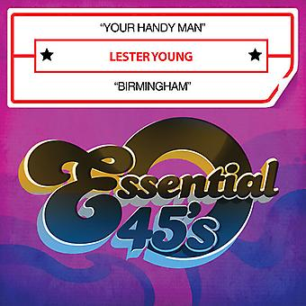Lester Young - Your Handy Man / Birmingham, USA import
