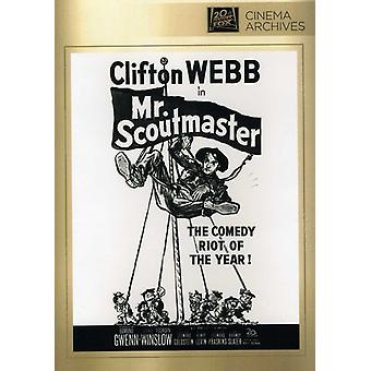 Mister scoutmastare [DVD] USA import