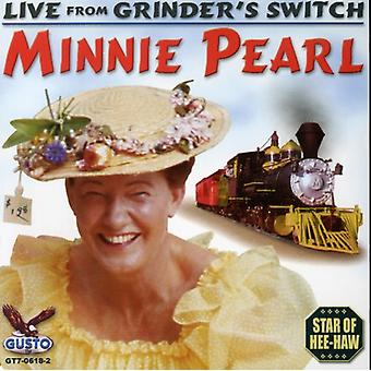 Minnie Pearl - Live From Ginder's Switch [CD] USA import