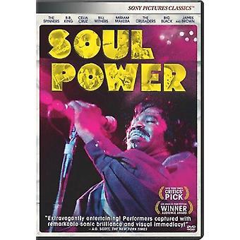 Soul Power [DVD] Yhdysvallat tuoda