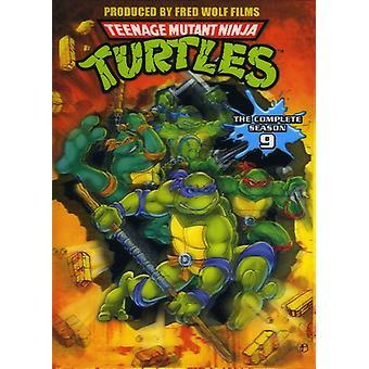 Teenage Mutant Ninja Turtles-komplett sesong 9 [DVD] USA importere