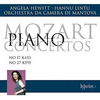 W.a. Mozart - Mozart: Piano Concertos No. 17 K 453, No. 27 K595 [CD] USA import