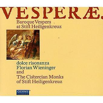 Mazak/Sances/Ebner/Battista Buonamente/Ferro - Vesperae: Baroque Vespers at Stift Heiligenkreuz [CD] USA import