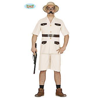 Safari Kostüm Safarikostüm Jäger Wildhüter Herren