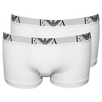 Emporio Armani stretch Cotton 2-Pack Basic Boxer fatörzsek, fehér