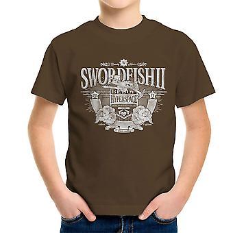 Swordfish II Cowboy Bebop Kid's T-Shirt