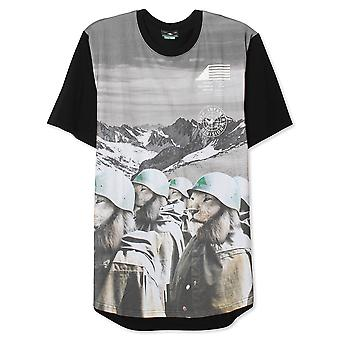 Lrg Lion Army Scoop T-shirt Black