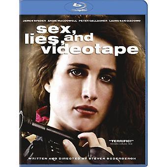 Sex Lies & videonauha [Blu-ray] Yhdysvallat tuoda