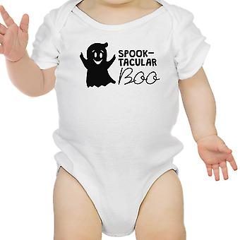 Spuk-Tacular Boo Baby erste Halloween Bodysuit weiß Baby Body