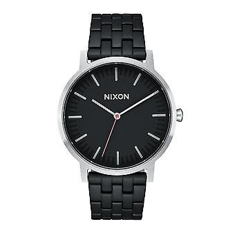 Nixon le Porter noir / acier (A1057-2541)