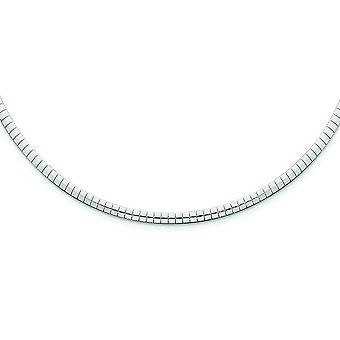 925 Sterling Silver Solid Polished Lobster Claw Closure 3mm Cubetto Necklace - Lobster Claw - Length: 16 to 18