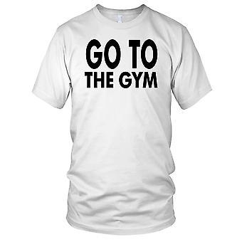 Gå til Gym Fitness Gym trening Bodybuilding Kids T skjorte