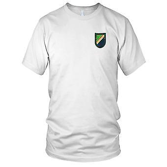 US Army - 1: a bataljonen 75th Ranger regementet Flash broderad Patch - Mens T Shirt
