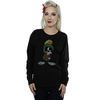 Looney Tunes kvinnors Marvin den Martian Pose Sweatshirt