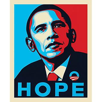 Obama Hope Juliste Tulosta (16 x 20)