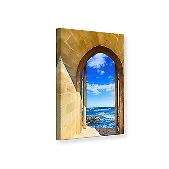 Leinwand drucken, das Tor zum Meer